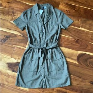 H&M Divided NEW cotton dress size 3XS XS